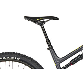 Kona Process 134 SE matt charcoal/gloss black/yellow